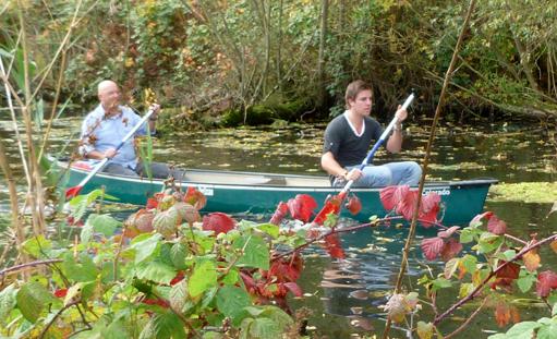 Biesbosch Kano- ontdekkingstocht